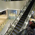 Escalators of Dai Nagoya Building (大名古屋ビルヂング)