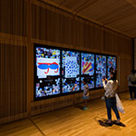 Experience touch panel, Toyama Prefectural Museum of Art & Design (富山県美術館)