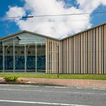 Exterior of Civic Koryu Exchange Plaza