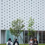 Exterior of Kanazawa Umimirai Library (金沢海みらい図書館)