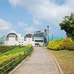 Exterior of Kita-Kyushu City Central Library (北九州市立中央図書館)