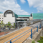Exterior of Kita-Kyushu City Central Library (北九州市立中央図書館)