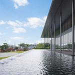 Exterior of Kyoto National Museum, Heisei-Chishinkan Wing (京都国立博物館 平成知新館).