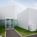 Exterior of Towada Art Center (十和田市現代美術館)