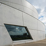 Exterior view of Akiha Ward Cultural Center (秋葉区文化会館)