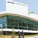 Exterior view of Art Museum & Library, Ota (太田市美術館・図書館)
