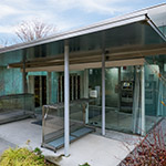 Exterior view of Hiroshi Senju Museum Karuizawa (軽井沢千住博美術館)