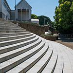 Exterior view of Hiroshima City Museum of Contemporary Art (広島市現代美術館)