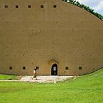Exterior view of Mosaic Tile Museum, Tajimi (多治見市モザイクタイルミュージアム)