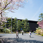Exterior view of National Theatre of Japan (国立劇場)