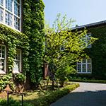 Exterior view of Rikkyo University, Morris Hall (立教大学 モリス館)
