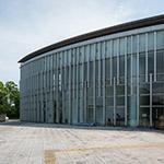 Exterior view of The Museum of Modern Art Wakayama, Wakayama Prefectural Museum (和歌山県立近代美術館)