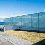 Exterior view of Yokosuka Museum of Art (横須賀美術館)