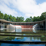 Facade of Aomori Contemporary Art Centre, Exhibition Hall (国際芸術センター青森).