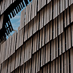 Facade of Daiwa Ubiquitous Computing Research Building (ダイワユビキタス学術研究館)