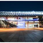 Facade of Gifu Station, north plaza (岐阜駅北口駅前広場)