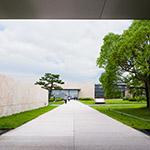 Facade of Kyoto National Museum, Heisei-Chishinkan Wing (京都国立博物館 平成知新館).