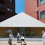 Facade of Moto-Yoyogi Project (元代々木プロジェクト)