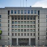 Facade of Osaka City Government Office (大阪市庁舎)