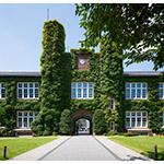 Facade of Rikkyo University, Morris Hall (立教大学 モリス館)