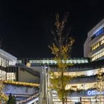 Facade of Tokyo Skytree Town in Christmas (東京スカイツリータウン)