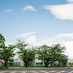 Facade of Towada Art Center (十和田市現代美術館)