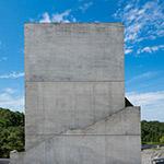 Facade of tower, Osaka Pref. Chikatsu-Asuka Museum (大阪府立近つ飛鳥博物館)