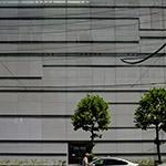 Facade of Yoshida Printing Inc. Tokyo Head Office Building (ヨシダ印刷株式会社 東京本社ビル)
