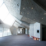 Foyer of Yurihonjo City Cultural Center KADARE (由利本荘市文化交流館 カダーレ)