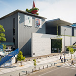 Full view of Hyogo Prefectural Museum of Art (兵庫県立美術館)