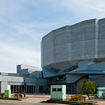 Full view of Yurihonjo City Cultural Center KADARE (由利本荘市文化交流館 カダーレ)