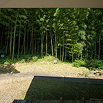 Garden in Noh Stage in the Forest (伝統芸能伝承館)