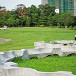 General view of Island City Central Park