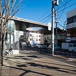 General view of Kaminoge Station (上野毛駅)
