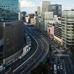 General view of Metropolitan Expressways, Yaesu Line (首都高速八重洲線)