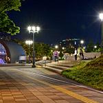 General view of Naniwabashi Station (京阪電鉄中之島線・なにわ橋駅)
