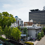 General view of Wakayama Prefecture Government Office, south annex (和歌山県庁南別館)