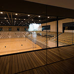 Gymnasium space of Nagaoka City Hall Aore (アオーレ長岡)
