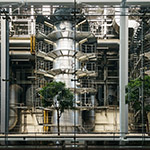 Indoor of Hiroshima Environment Bureau, Naka Incineration Plant (広島市環境局 中工場)