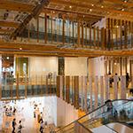 Indoor of Toyama City Library (富山市立図書館)