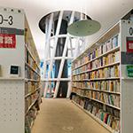 Indoor on 3rd floor of Sendai Mediatheque (せんだいメディアテーク)