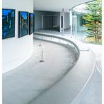Indoor view of Hiroshi Senju Museum Karuizawa (軽井沢千住博美術館)