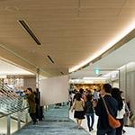 Inside of Ginza Six on 4th floor (ギンザシックス).