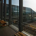 Inside of Ryuo Station, south plaza (竜王駅 南口駅前広場)
