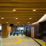 Inside of Takaosanguchi Station (高尾山口駅)