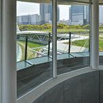 Interior of Kanda University of International Studies, building 7 (神田外語大学 7号館)