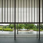Interior of Kyoto National Museum, Heisei-Chishinkan Wing (京都国立博物館 平成知新館).