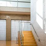 Interior of Osaka Pref. Chikatsu-Asuka Museum (大阪府立近つ飛鳥博物館)