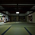 Japanese Room with tatami mat (畳の和室)
