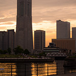 Landmark Tower after rain (横浜ランドマークタワー)